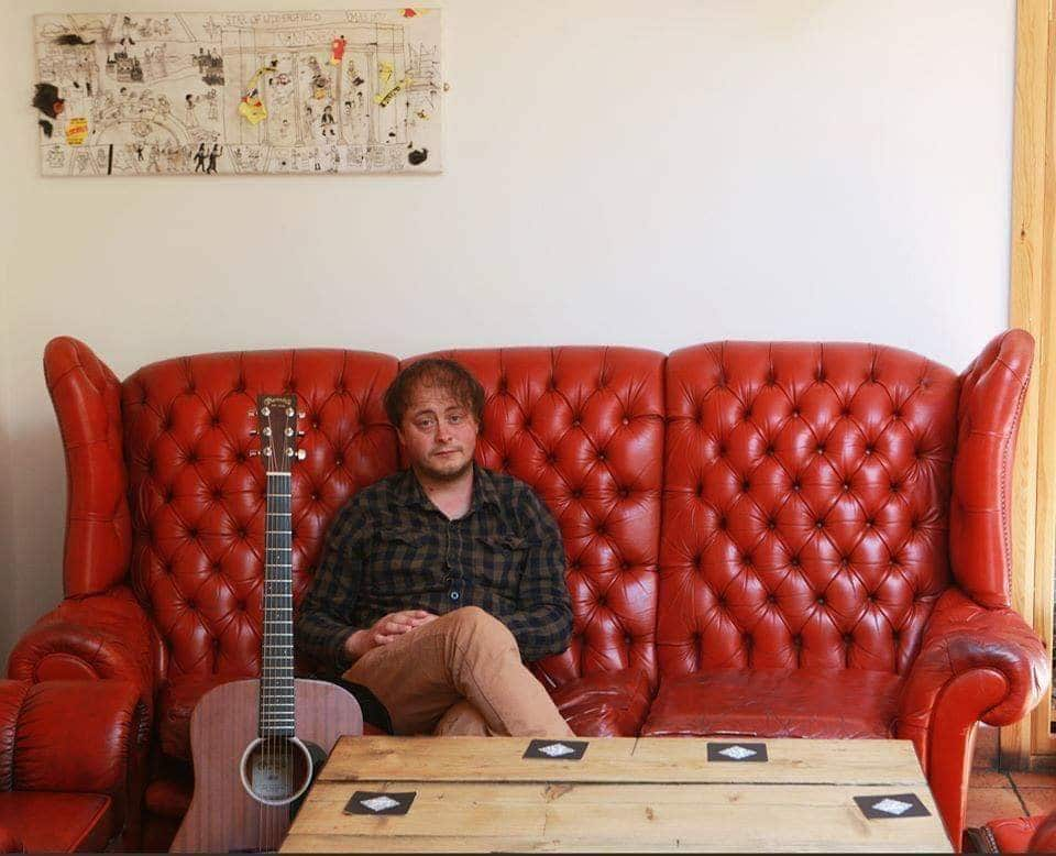 Huddersfield folk singer Johnny Campbell, who has released a single to raise money for local food banks.