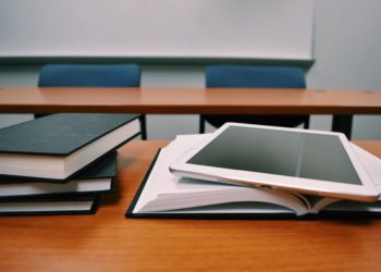 books classroom close up college