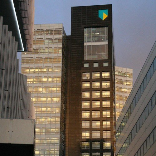Picture of the headquarters of ABN AMRO, the bank whose takeover bankrupted RBS.