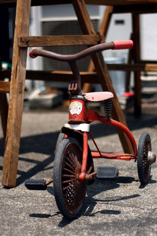 Picture of kid's tricycle