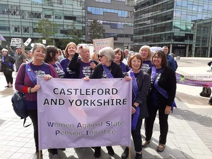 Picture of the Castleford and Yorkshire WASPI group