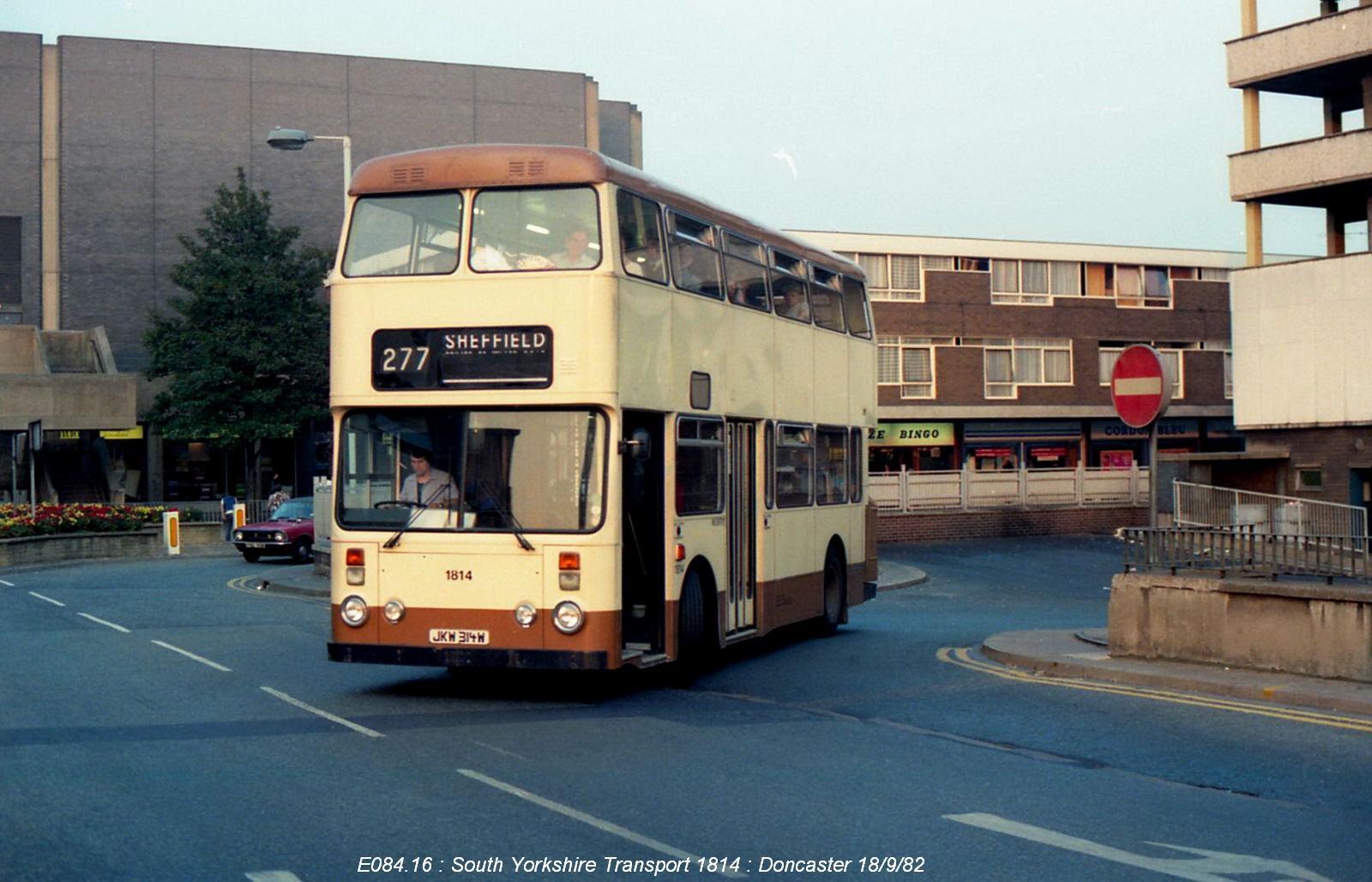 Socialist republic of South Yorkshire bus