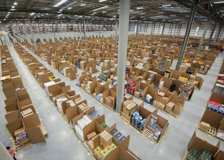 Amazon sales after Brexit