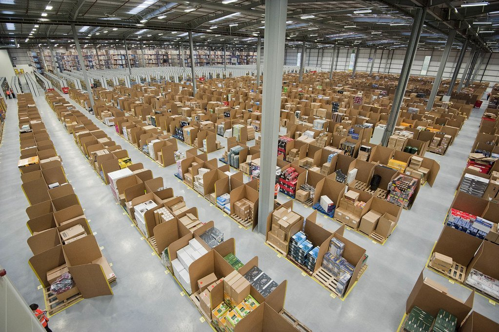 Amazon sales after Brexit