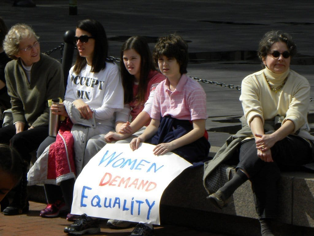 International Women's Day Women Demand Equality
