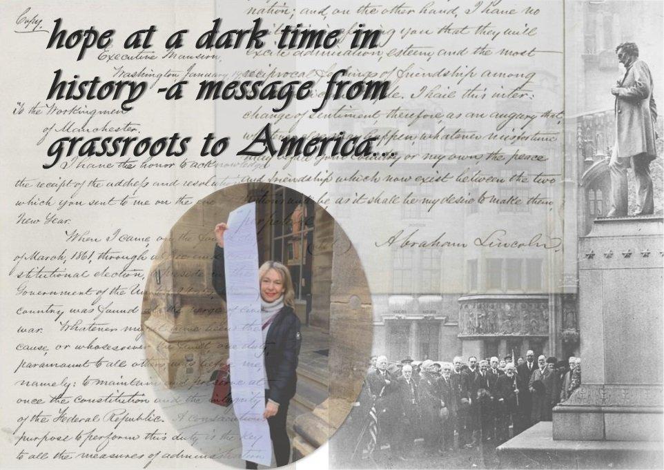 Letter Biden Harris