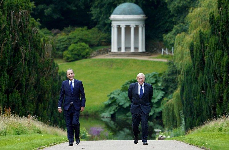 Northern Ireland Boris Johnson