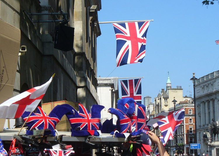 Union Jacks in Fashion byColin Smith, CC BY-SA 2.0 , via Wikimedia Commons