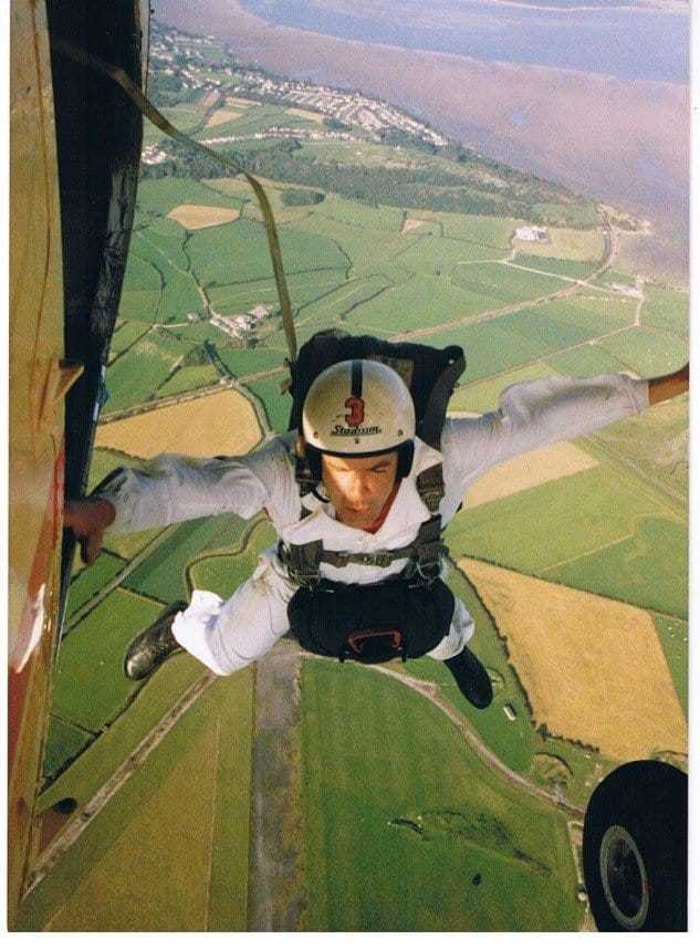 Norky parachute jump